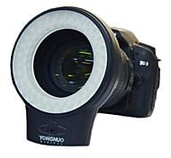 WJ-60 Macro Fotografía anillo continuo de luz LED para Canon Nikon Sigma