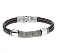 Doble capa Belt Buckle Bracelet