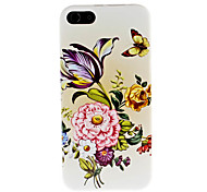 Flower Pattern Hard Case for iPhone 5/5S
