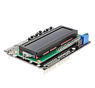 Placa LED 1602 Teclado para Arduino con Pantalla Blanca y Azul