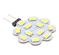 6W G4 LED Bi-pin Lights 12 SMD 5630 560 lm Natural White DC 12 V