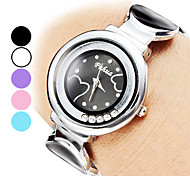 Women's Alloy Analog Quartz Bracelet Watch (Assorted Colors)