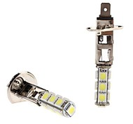 H1 2.5W 13x5050 SMD White LED Bulb for Car Headlight Fog Light (12V, 2-Pack)