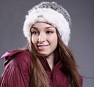 Deniso-1176 Hand-sewn Fashion Lapin  Winter Hat