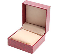 PU Style Watch Box (Red)