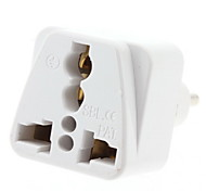 EU Plug to Multiple Plug Universal Travel Adapter (110-240V)