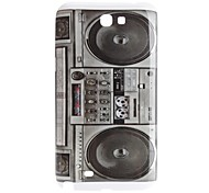 Radio Style Hard Case voor Samsung Galaxy Opmerking 2 N7100