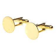 Gemelos de metal de 14 mm de la Ronda de Oro (Contiene 10 Fotos)
