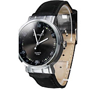 Women's Simple Dial PU Leather Band Quartz Wrist Watch (Assorted Colors) Cool Watches Unique Watches