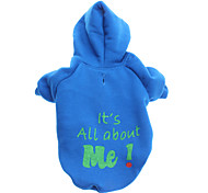 All About Me Style Fleeces Hoodies for Dogs(Blue,XS-L)