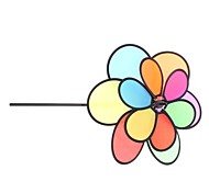 """14"""" 6-Petal Double Flower Garden Spinner (Random Style)"""