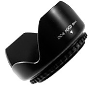 62mm Lens Hood (Screw Mount) Petal Crown Flower Shape
