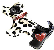 Dog Toy Pet Toys Chew Toy / Squeaking Toy Squeak / Squeaking / Dog Genuine Leather Black
