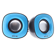 2.0 Speaker Portátil Digital em recurso Ovo Azul
