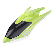 Head Cover Green Canopy Replacement for Z007 Remote Control Helicopter