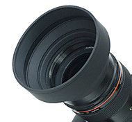 77mm Rubber Lens Hood for Wide angle, Standard, Telephoto Lens