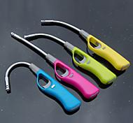 In metallo pieghevole / Easy-Carrying barbecue accensione Rod (colore casuale)