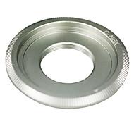 Silver lentes de montaje C para SONY NEX-5 NEX-3 NEX-C3 NEX5 NEX-VG10 Adaptador