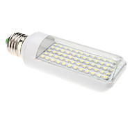 E26/E27 3 W 60 SMD 3528 320 LM Natural White T Corn Bulbs AC 220-240 V
