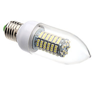 E26/E27 8 W 138 SMD 3528 620 LM Warm White/Cool White C Candle Bulbs AC 220-240 V