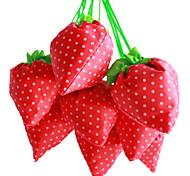 клубника дизайн текстильная сумка для покупок (случайный цвет)