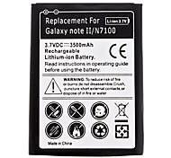 New Replacement Lithium-Ionen-Akku für Samsung Galaxy Note II/N7100 (3.7V, 3500mAh)