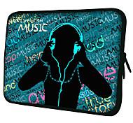 "Music Pattern 7""/10""/13"" Laptop Sleeve Case for MacBook Air Pro/Ipad Mini/Galaxy Tab2/Sony/Google Nexus 18207"
