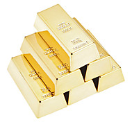 Creative Gold Bullion Shaped Magnetic Holder Paper Weight (6-Pack)