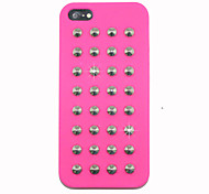 Punk Nails Silica Gel Back Case for iPhone 5/5S