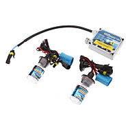 12V 35W 9004/H Xenon High Beam/Halogen Low Beam HID Xenon Lamp Conversion Kit Set (Thick Ballast)