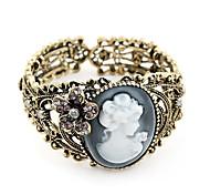 dama oca-out escultura bracelete vintage (cor aleatória)