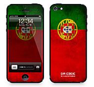 """Codice Da ™ Pelle per iPhone 4/4S: """"Portogallo"""" (Bandiere Serie)"""