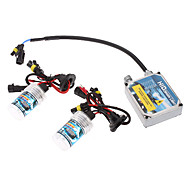 12V 35W H7 HID Xenon Lamp Conversion Kit Set (Thick Ballast)