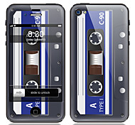 Tape Pattern Front and Back Screen Protector Film for iPhone 4/4S