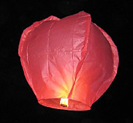 Heart-shape Flying Sky Wishing Lantern Kongming Light (Random Color)