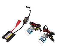 12V 35W H4-1 HID Xenon Lamp Conversion Kit Set (Super Slim Ballast)