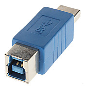 High Speed 3.0 A Male to B Female Adapter Blue