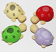 Detachable Tortoise-Shaped Eraser (2PCS Random Color)