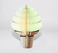 Apple Taste Ice Cream Shaped Paper Self-Stick Note