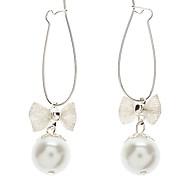 Z&X®  Sweet Bowknot Pearl Earrings