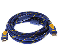 3M 10FT Nolon Braid and Double Ferrite V1.3 1080P HDMI Male to Male High Speed Standard  HDMI Cable (Gold Plated)