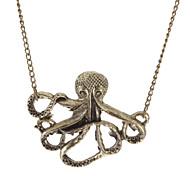Octopus Vintage Long Necklace