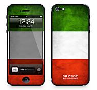 """Codice Da ™ Pelle per iPhone 4/4S: """"Italia"""" (Bandiere Serie)"""
