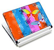 """""""Borboleta"""" padrão laptop etiqueta protetora da pele para 10 """"/ 15"""" laptop 18.394 (15 """"adequado para abaixo de 15"""")"""