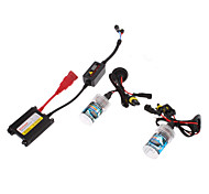 12V 35W H1 HID Xenon Lamp Conversion Kit Set (Super Slim Ballast)
