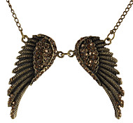 Cool Angel Wings Retro Pattern Alloy Necklace