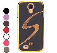 Elegantes Design S Pattern Hard Case für Samsung Galaxy i9500 S4 (verschiedene Farben)