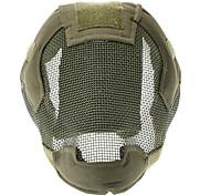 A terceira geração de Floresta Steel Wire Máscara de Proteção (verde)
