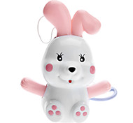 Rabbit Shaped Music Toy with Lifting Rope (Random Color)