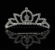 Moda strass lega da sposa tiara